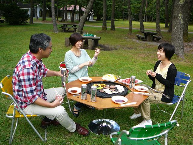 三瓶山北の原キャンプ場(島根県/大田市)