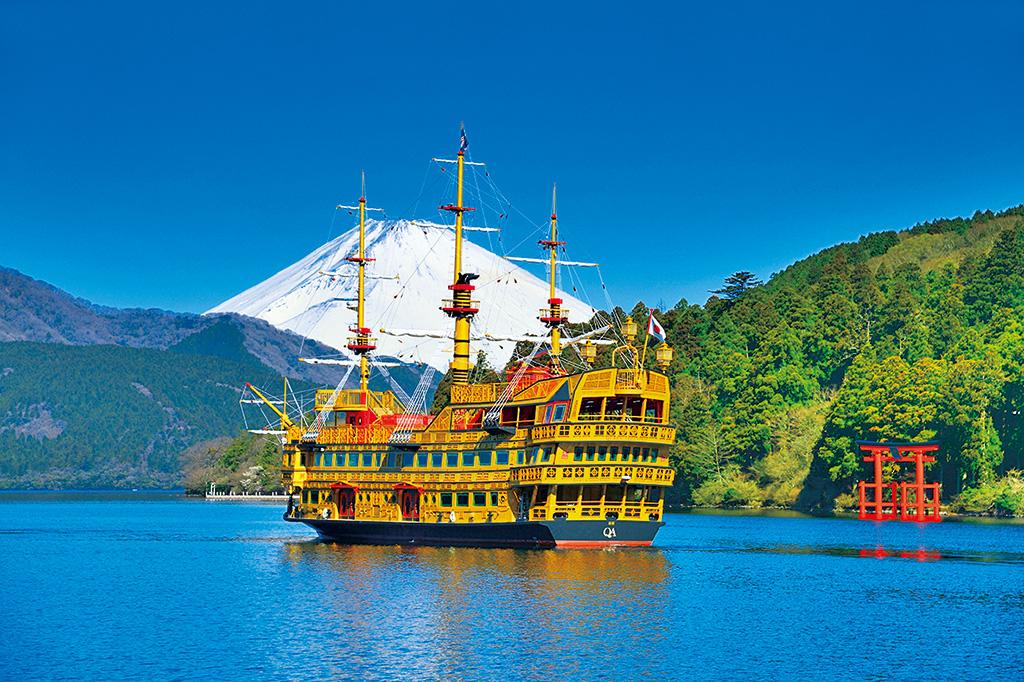 箱根海賊船で芦ノ湖をクルージング/芦ノ湖(神奈川県/箱根町)