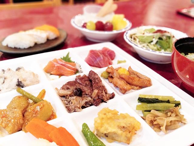 約70種類が食べ放題のバイキング/池の平ホテル(長野県/立科町)