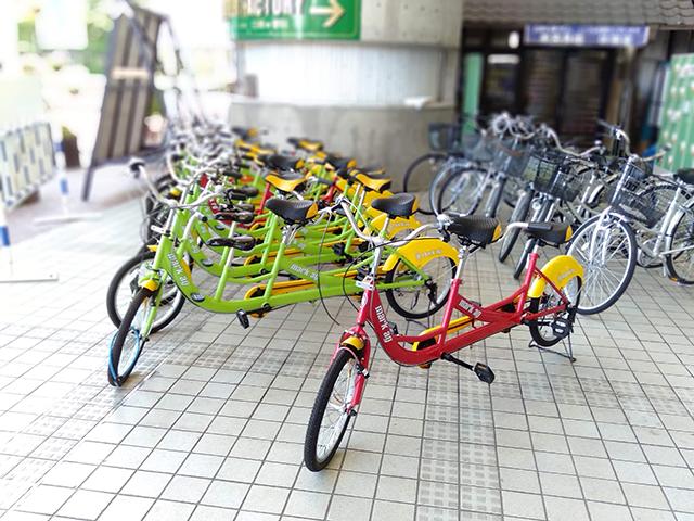 親子で乗れる3人乗り自転車/池の平ホテル(長野県/立科町)