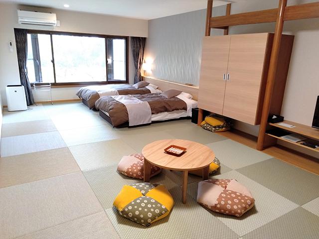 広々とした和モダンルーム/池の平ホテル(長野県 白樺湖畔)
