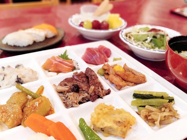 約70種類が食べ放題のバイキング/池の平ホテル(長野県 白樺湖畔)