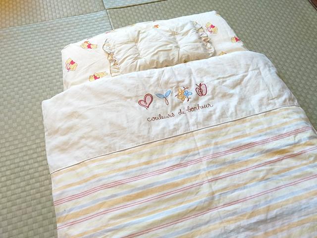 かわいいベビー布団も/池の平ホテル(長野県 白樺湖畔)