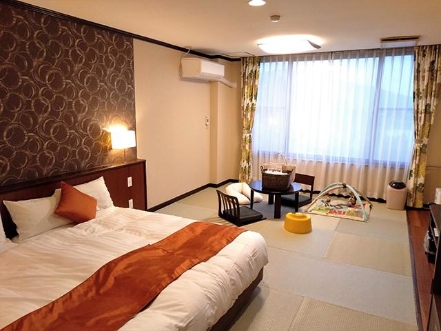 赤ちゃんと畳で寛げるなごみルーム/池の平ホテル(長野県 白樺湖畔)