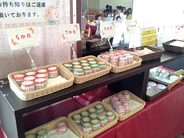 月齢別離乳食コーナーもある/池の平ホテル(長野県 白樺湖畔)