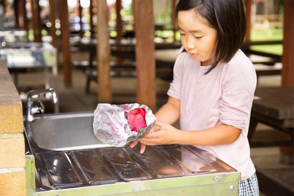 新鮮な野菜をバーべキューで料理できる/農園リゾート ザファーム(千葉県/香取市)