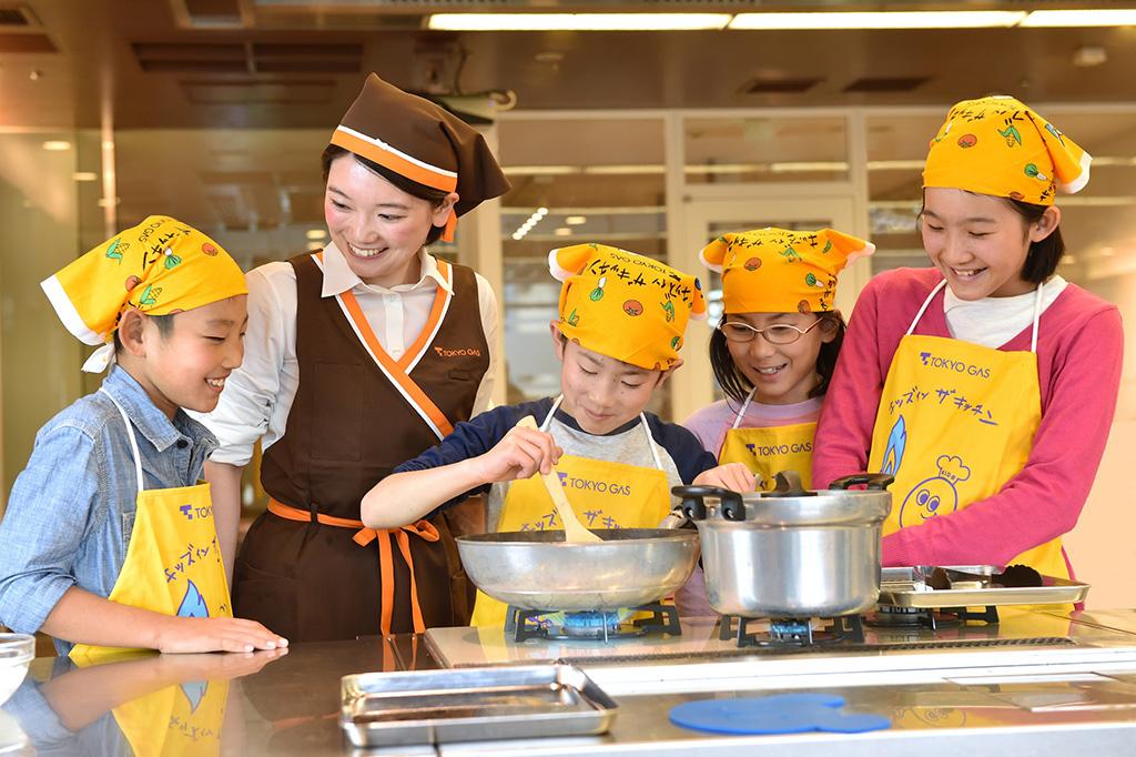 「キッズ イン ザ キッチン」東京ガス料理教室