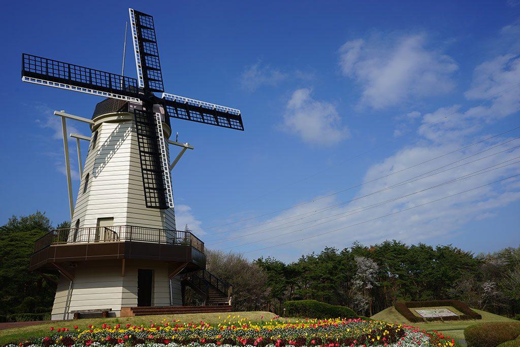 オランダ式風車/那須野が原公園アスレチック(栃木県/那須塩原市)