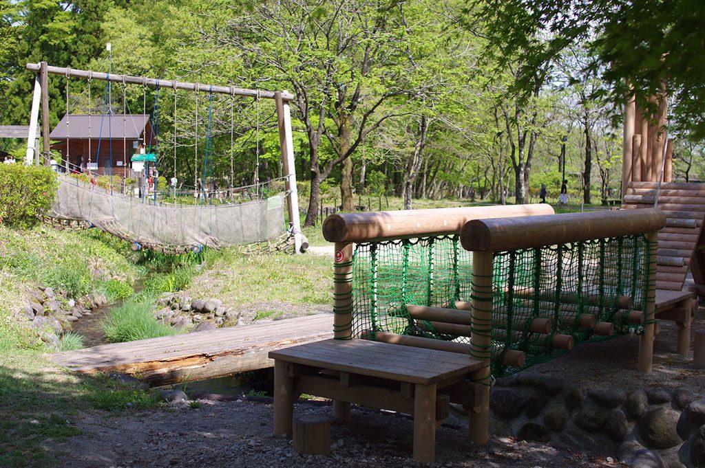 アスレチックコース/日光だいや川公園(栃木県/日光市)
