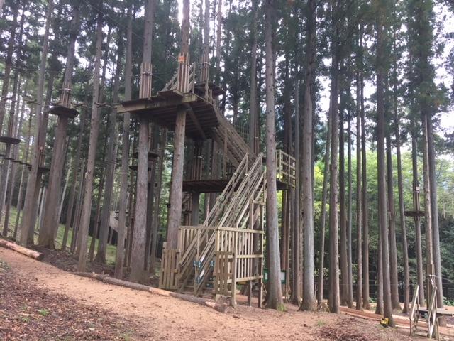 アスレチックコース/フォレストアドベンチャー上野(群馬県/上野村)