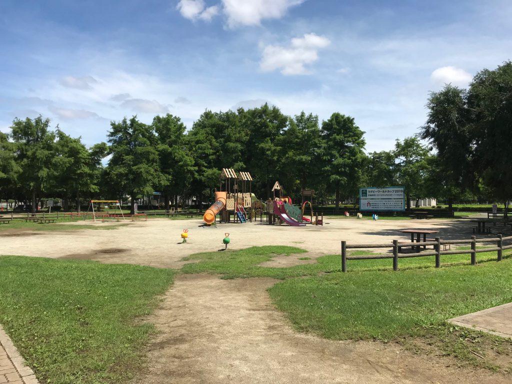 小さな子どもでも遊べる複合遊具/みさと公園(埼玉県/三郷市)