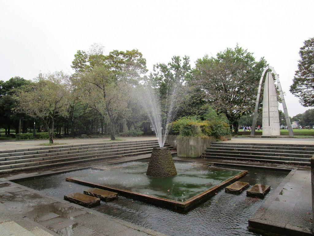 水遊びができる噴水広場/庄和総合公園(埼玉県/春日部市)