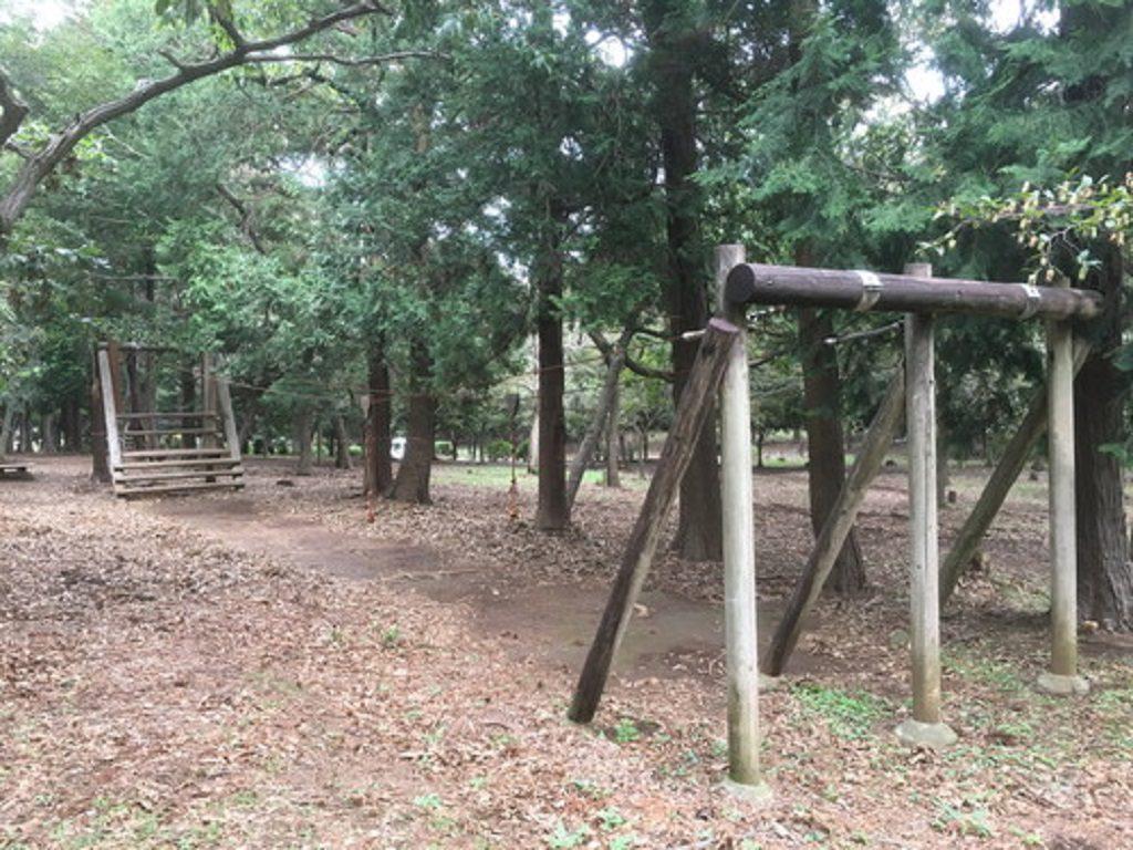 ターザンロープ/八千代台北子供の森(千葉県)
