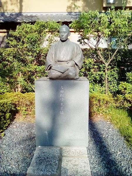 吉田松陰先生像/松陰神社(東京都/世田谷区)