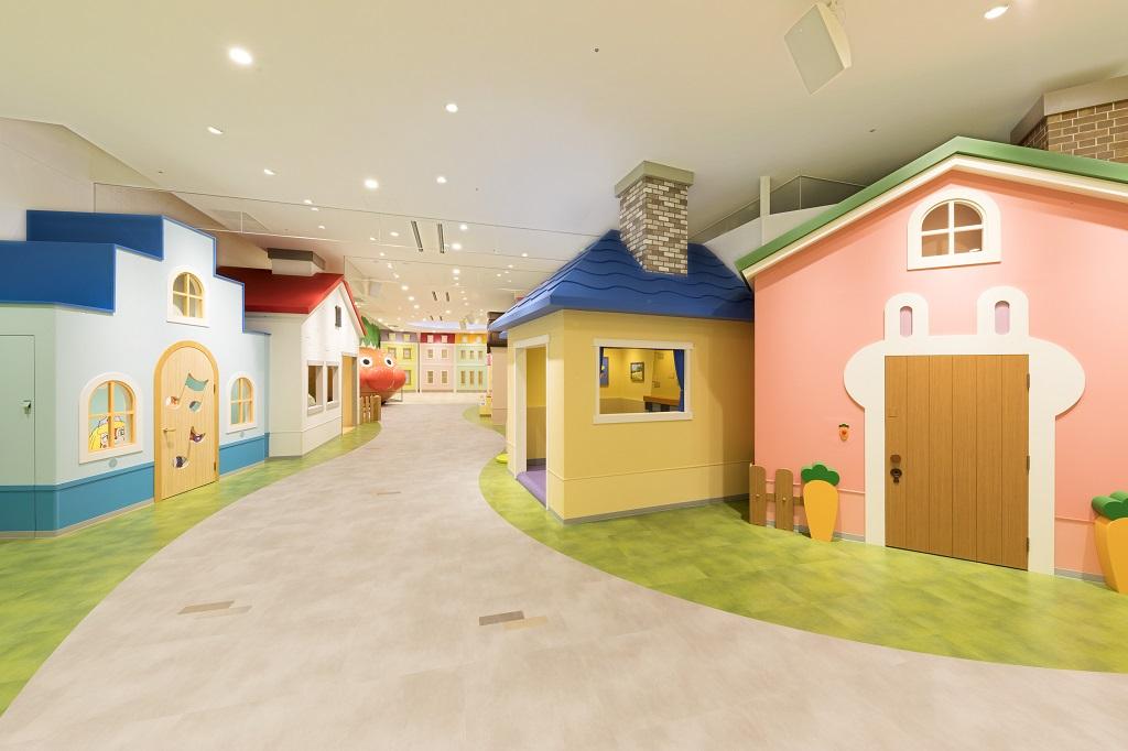 3Fの「みんなのまち」/横浜アンパンマンこどもミュージアム(神奈川県/横浜市)
