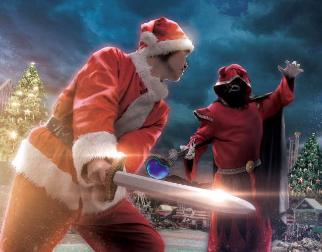 サンタになってクリスマスエルフ村を救う(イメージ)/よみうりランド(東京都/稲城市)