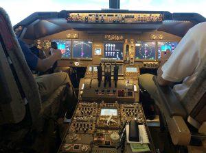 BOEING737の機長席/LUXURY FLIGHT(東京都/大田区)