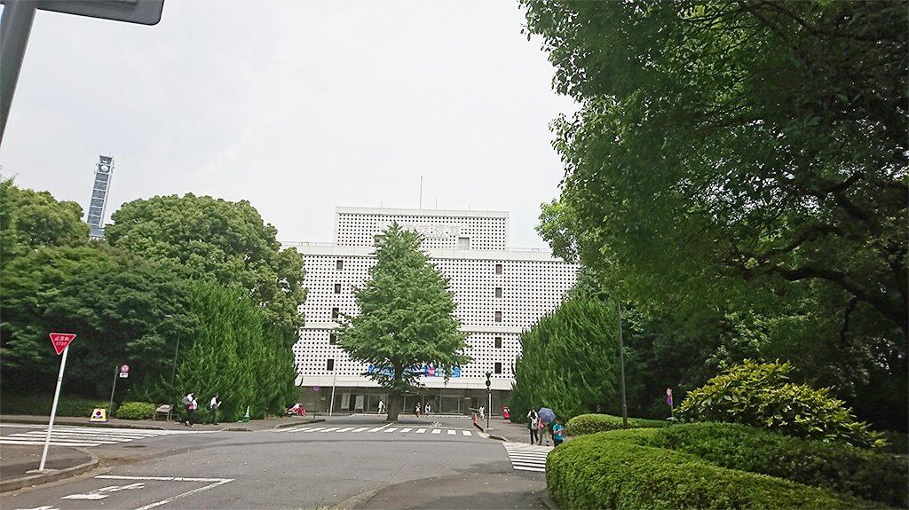 科学技術館の外観(東京都/千代田区)
