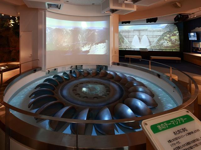水のテーマシアター/黒部川電気記念館(富山県/黒部市)