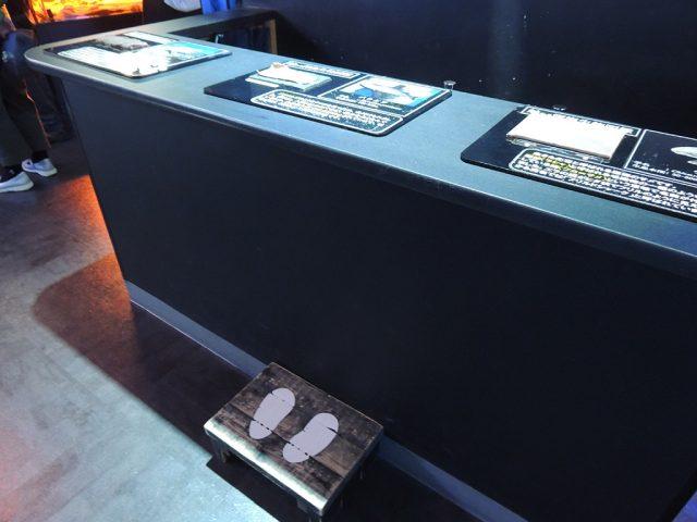 キッズ用踏み台/沼津港深海水族館 シーラカンス・ミュージアム(静岡県)