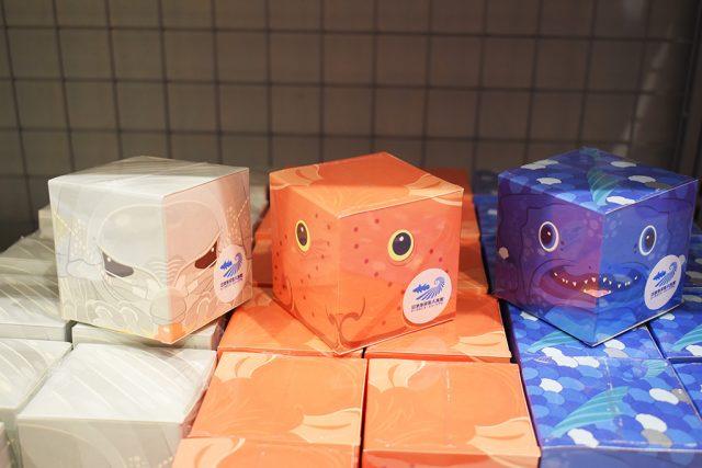 深海生物のキューブBOX/沼津港深海水族館 シーラカンス・ミュージアム(静岡県/沼津市)