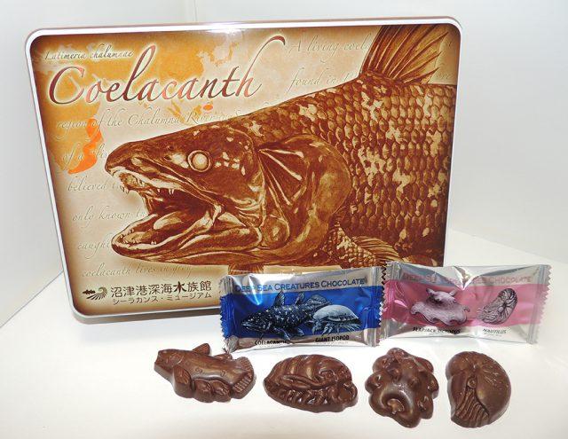 深海生物チョコレート/沼津港深海水族館 シーラカンス・ミュージアム(静岡県/沼津市)