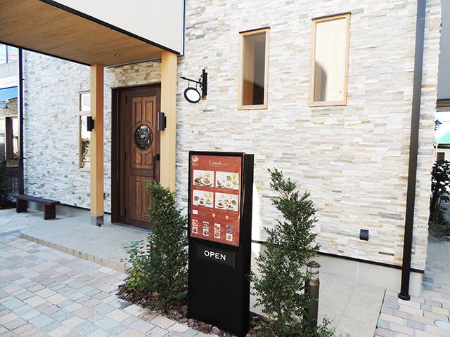 1階フロアの入口/Italian restaurant PORTUS(静岡県/沼津市)