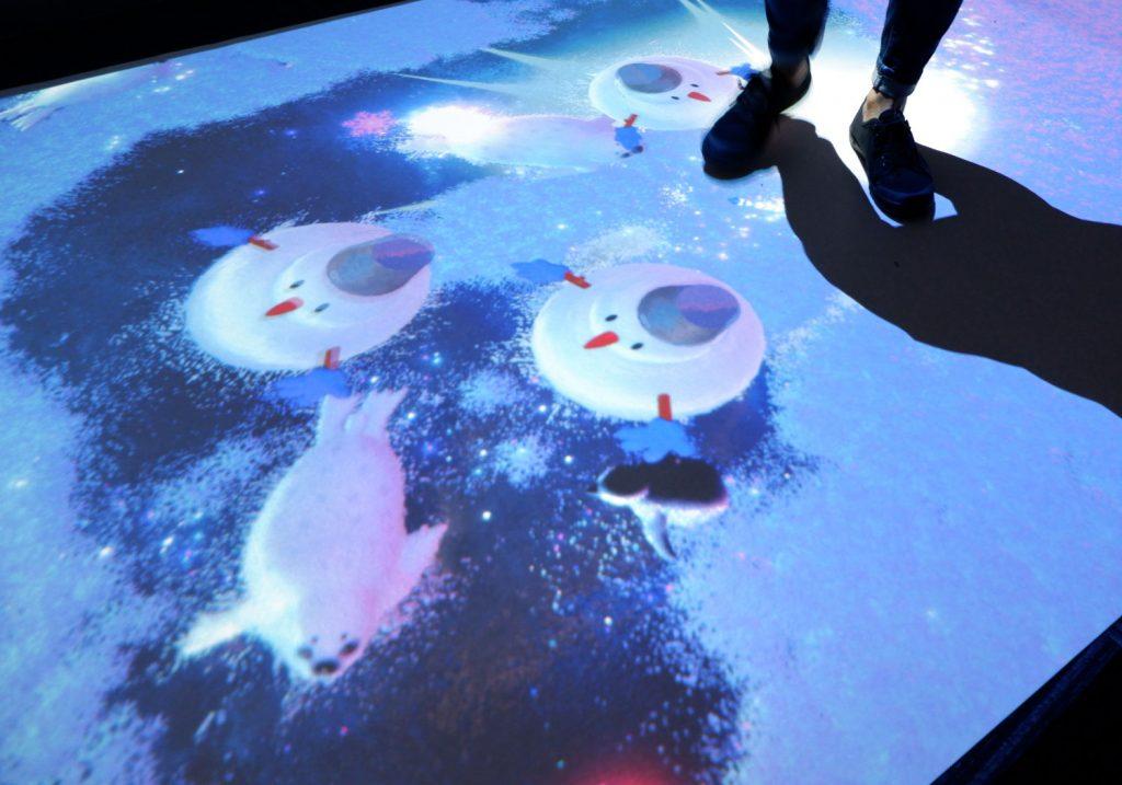 冬限定のデジタル雪遊びバージョン/リトルプラネットららぽーと沼津(静岡県/沼津市)