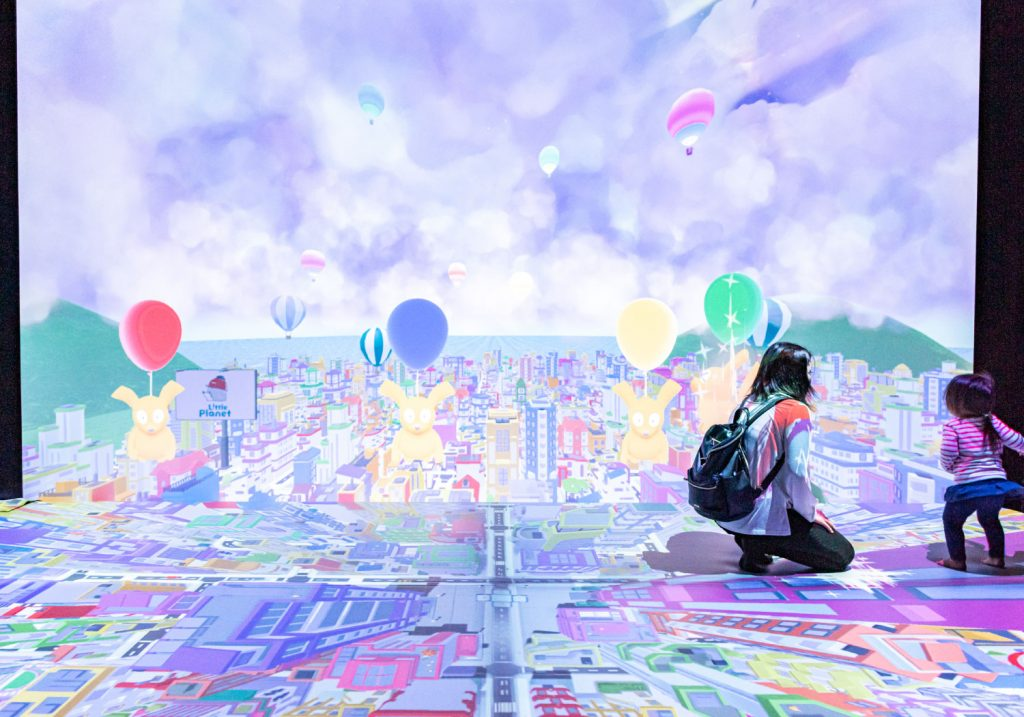 デジタルトランポリン「FLAPPY」/リトルプラネットららぽーと沼津(静岡県/沼津市)