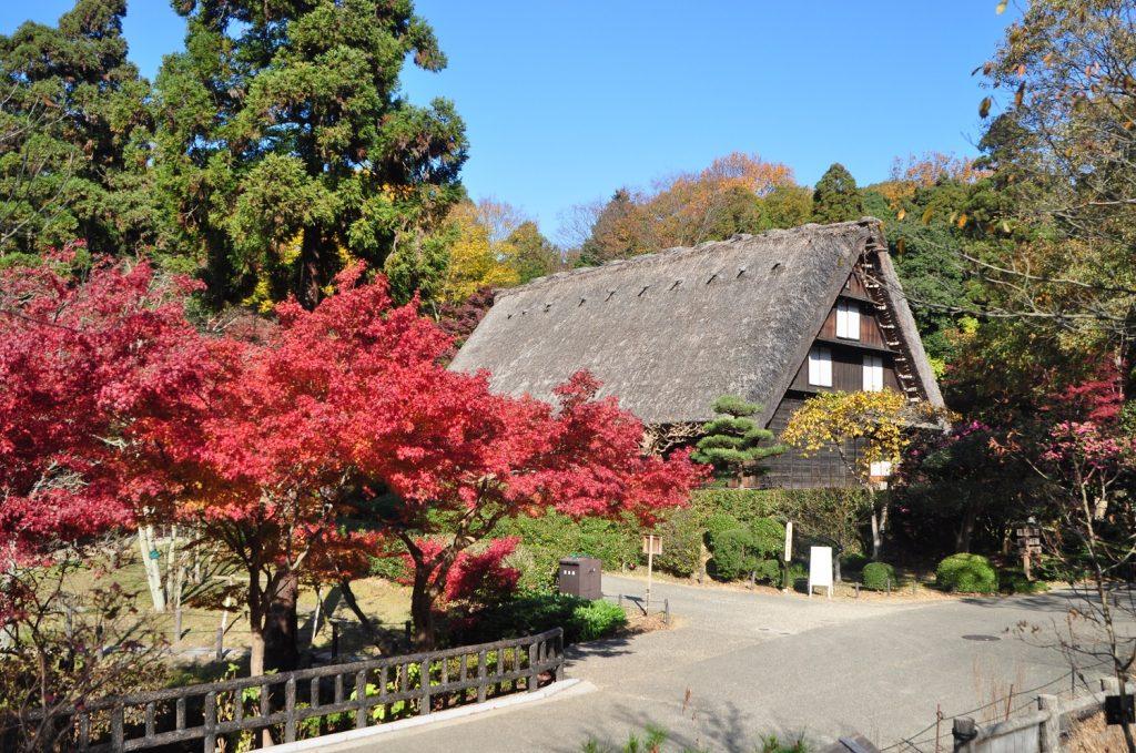 合掌造りの家/東山動植物園(愛知県/名古屋市)