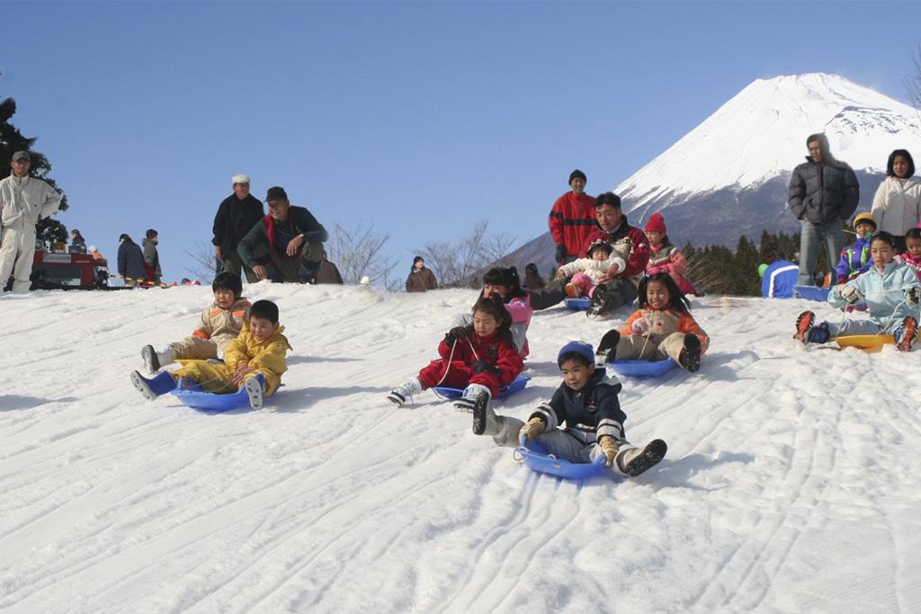 雪の丘/富士山こどもの国(静岡県/富士市)