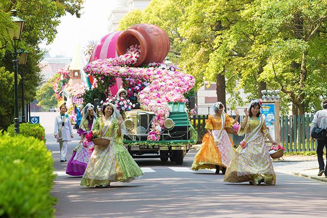 パレードの様子/ハウステンボス(長崎県/佐世保市)