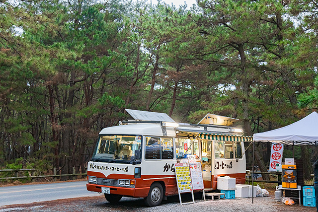虹の松原 からつバーガーのキッチンカー(佐賀県/唐津市)