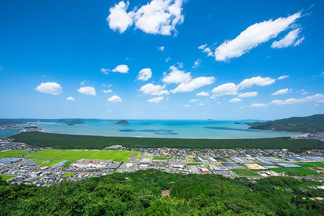 鏡山からの絶景(佐賀県/唐津市)