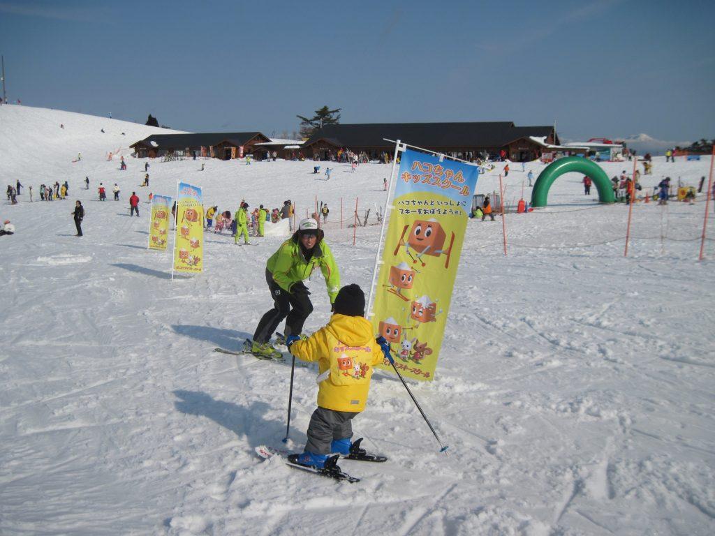 キッズスクール/箱館山スキー場(滋賀県/高島市)
