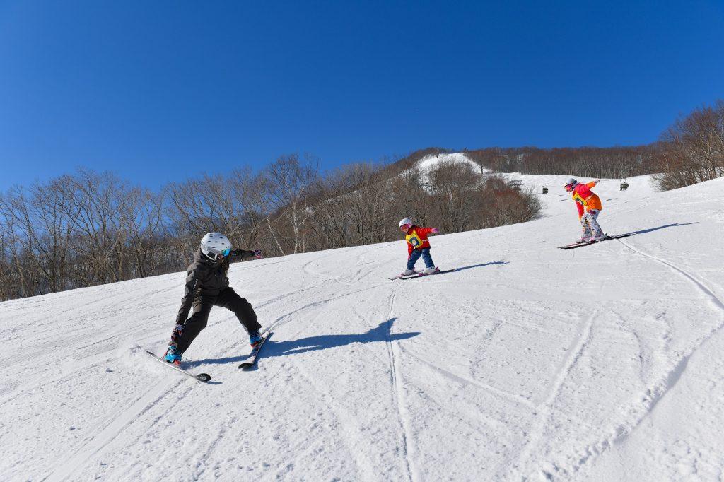 大人気のキッズレッスン/斑尾高原スキー場(長野県/斑尾市)