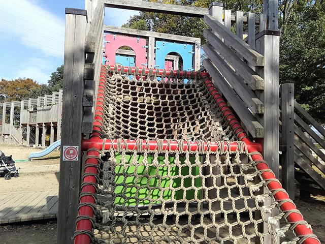 2階建て木製遊具【冒険ランド】/大泉緑地(大阪府/堺市)