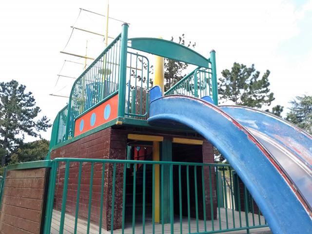 船型遊具【海遊ランド】/大泉緑地(大阪府/堺市)