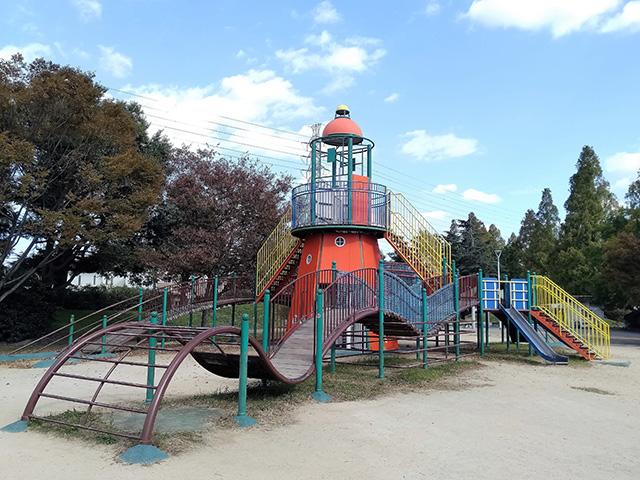 灯台のコンビネーション遊具【海遊ランド】/大泉緑地(大阪府/堺市)