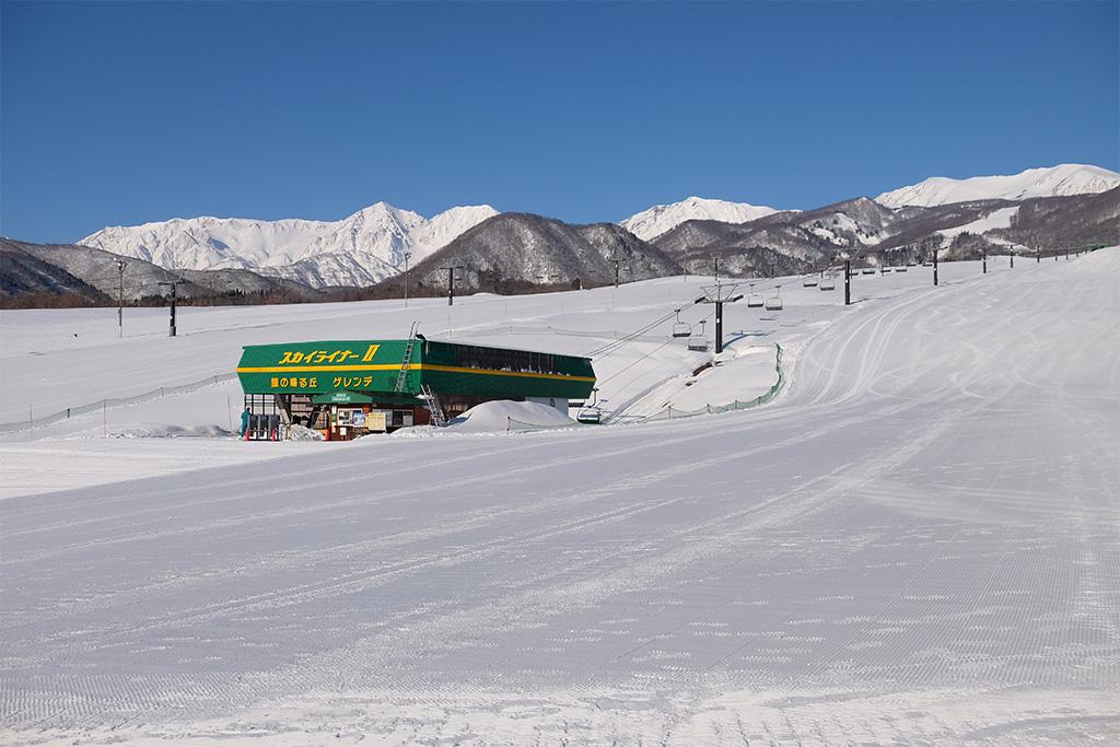 栂池高原スキー場(長野県/北安曇郡)