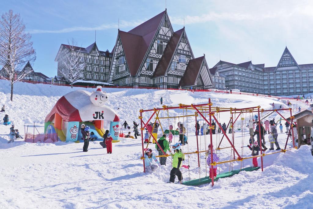 上越国際スキー場のキッズパーク(新潟県/南魚沼市)