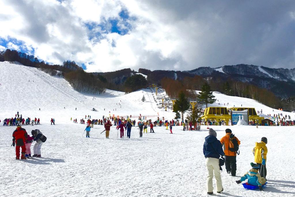 かたしな高原スキー場のゲレンデ(群馬県/利根郡片品村)