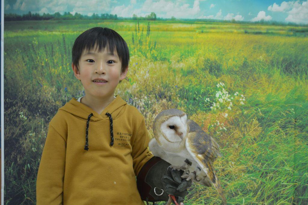 動物たちとの記念撮影/ふれあい動物園 ライフズー(千葉県/千葉市)