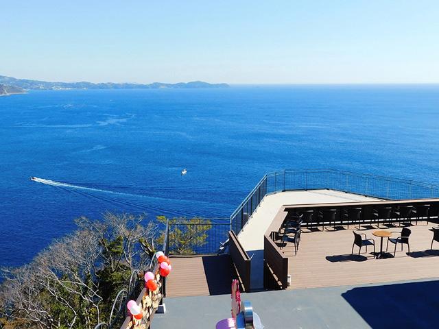 あいじょう岬のパノラマ展望台/アタミロープウェイ(静岡県熱海市)