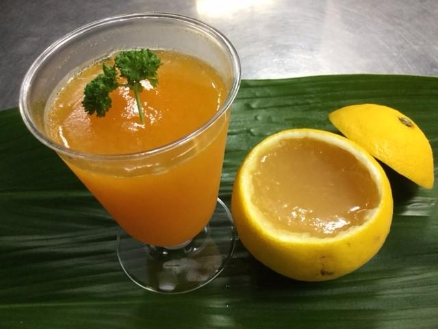オレンジのゼリー作り体験は子どもに人気/マルフクガーデン(静岡県熱海市)