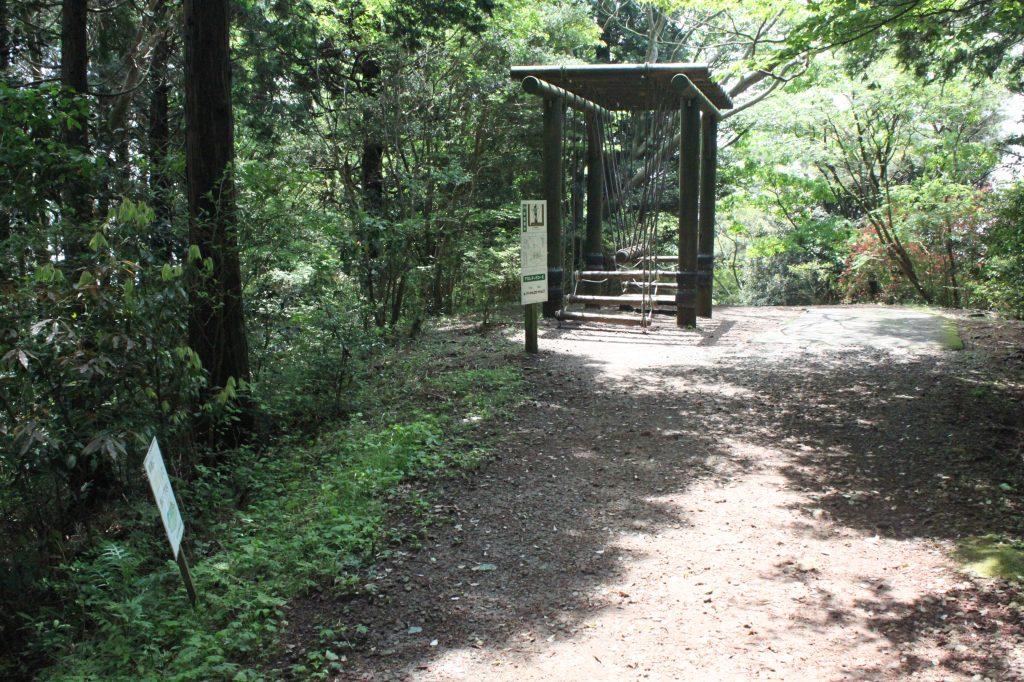ハイキングも兼ねたフィールドアスレチックコース/姫の沢公園(静岡県熱海市)