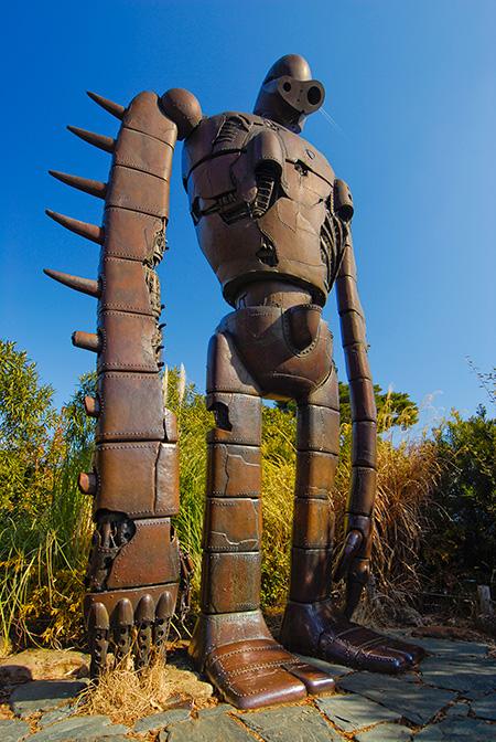 『天空の城ラピュタ』のロボット兵/三鷹の森ジブリ美術館(東京都)