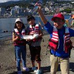 手ぶらOK、親子で初心者釣り教室!熱海港海釣り施設は自然体験と食育にピッタリ