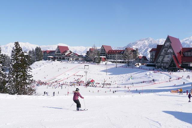 上越国際スキー場のゲレンデ(新潟県/南魚沼市)