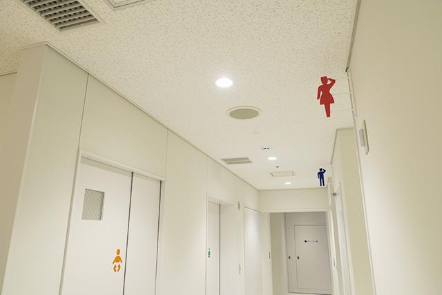 トイレのサイン/京急ミュージアム(神奈川県/横浜市)
